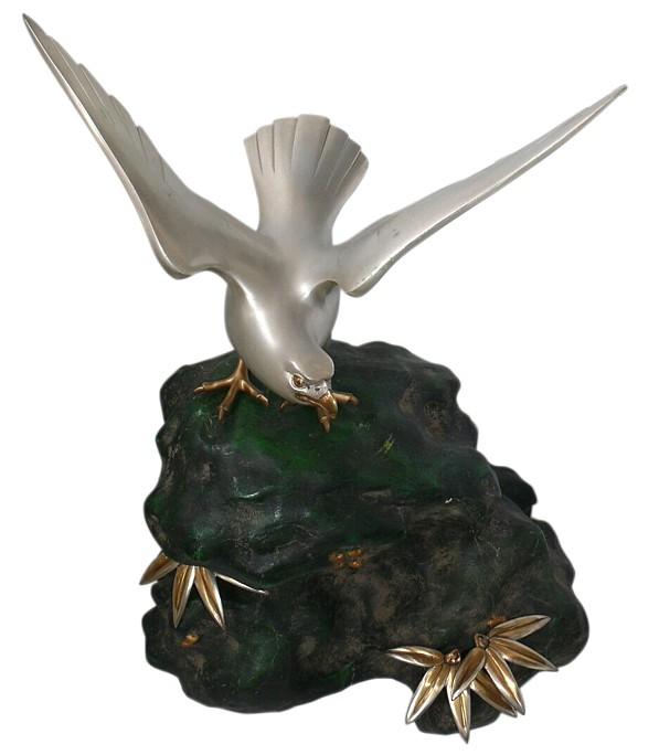 Интерьерная бронзовая композиция