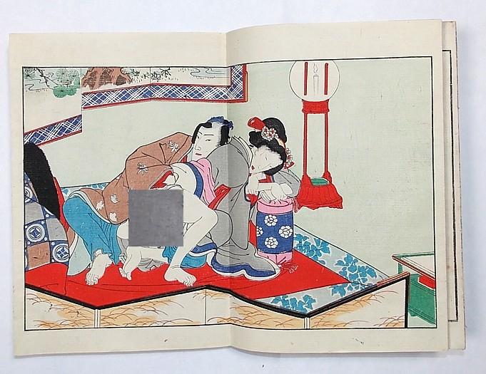 японская эротическая гравюра